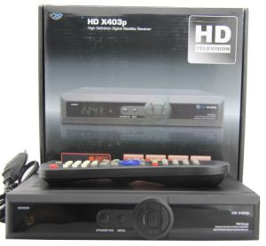 Opticum HD X403P Digital Satellite Receiver Set Top Box DVB-S2