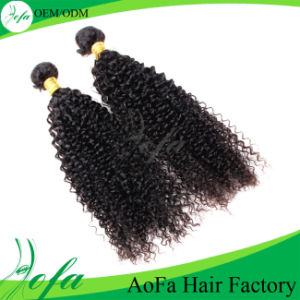 Brazilian Virgin Kinky Curly Human Hair for Black Women pictures & photos