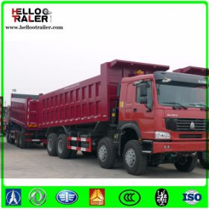 China Famous Brand Sinotruk 8X4 New Tipper Dump Truck pictures & photos