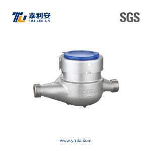 Stainless Steel Water Meter (T1084)
