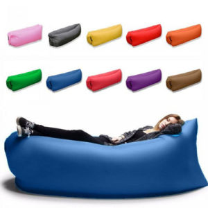 15 Colors Polyester Lazy Air Sofa Bags with Safety Lock pictures & photos