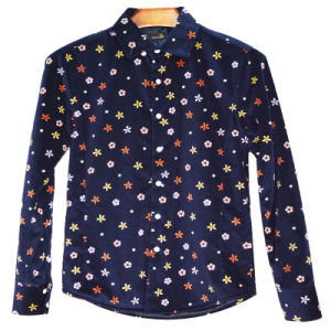 Xdl15017 Men′s Printed Fleece Lined Jacket