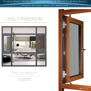 Aluminium Casement Window with Fly Screen (Anti-mosquito) pictures & photos