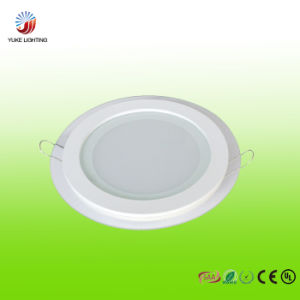 12W LED Glass Panel Light with CE RoHS SAA