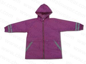 Waterproof PVC Children Rain Poncho / Kids Polyester Raincoats pictures & photos