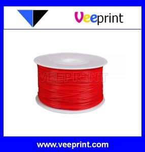 1.75mm Red ABS Filament for Desktop 3D Printer