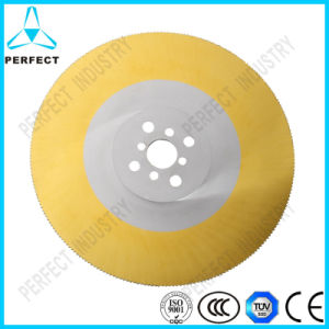 Tin Coated HSS Cold Saw Blade for Cutting Plastic pictures & photos