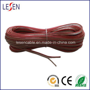 Transparent Speaker Cable with Red Line pictures & photos