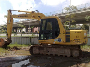 Good Working Condition Original Cheap Used Komatsu PC120-6 Excavator pictures & photos