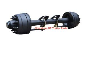 8t 20t Lowboy Semi Trailer Axle pictures & photos