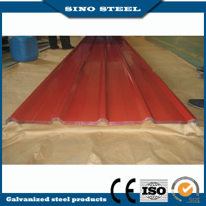0.28mm Thickness Prepainted Galvanized Corrugated Roofing Sheet pictures & photos