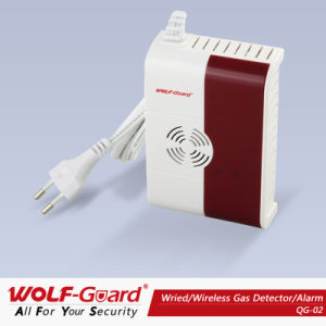 Wolf Guard Wireless Gas Detector Alarm System! Best Smart Gas Detector! Qg-02 pictures & photos