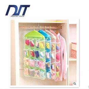 Socks Underwear Storage 16 Grids Bag Hanging Sundries Multilayer pictures & photos
