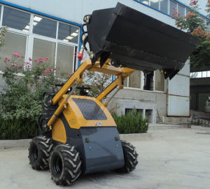 Hot Selling Gasoline and Diesel Engine Mini Skid Steer Loader for Sale pictures & photos