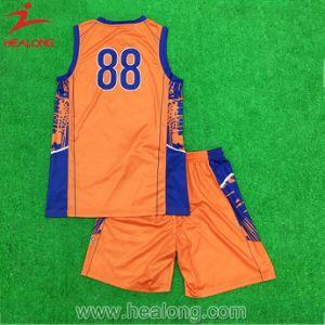 Cheap Sport Wear Sublimation Clothes Basketball Vest pictures & photos