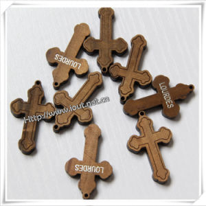 Beveled Wood Art Catholic Cross Item (IO-cw032) pictures & photos