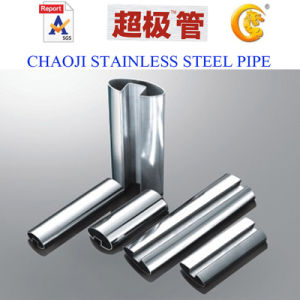 ASTM A554 Welded Stainless Steel Slot Pipe pictures & photos