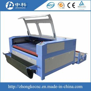 Auto Feeding Laser Cutting Machine with 100W Laser Tube pictures & photos