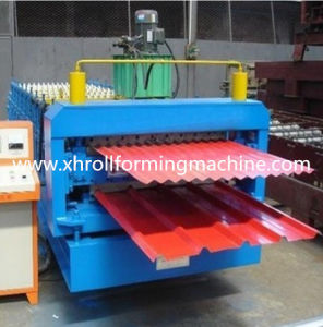 Metal Double Deck Tile Roll Forming Machine (XH850-840) pictures & photos