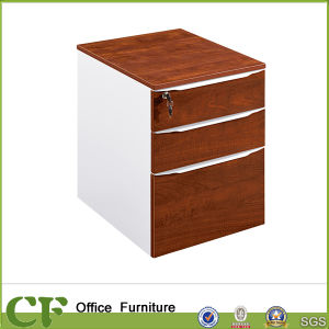 Movable 3 Drawers Pedestal with Lock CF-S89904 pictures & photos