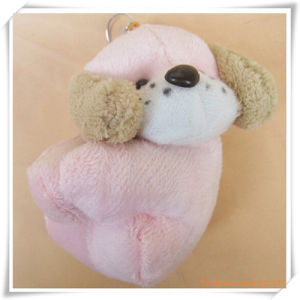 Pink Dog Plush Toy for Promotion pictures & photos