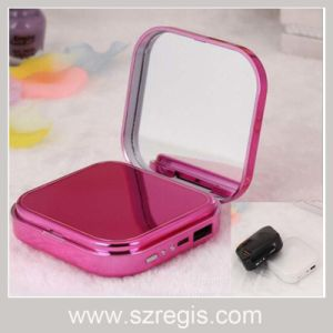 New Makeup Mirror Cartoon Phone Battery USB Charger Mobile Power pictures & photos