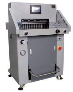 H520rt Paper Guillotine, Hydraulic Programmable Paper Guillotine, Paper Cutter pictures & photos