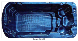 2015 3 Seats Outdoor Fiberglass Hydromassage Swim Spas (ZR7805)