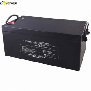 Ce Approved Gel Battery for Solar Power 12V250ah Cg12-250 pictures & photos