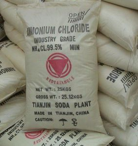 Tianjin Red Triangle Brand Ammonium Chloride 99.5% pictures & photos