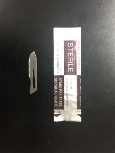 Disposable Stainless Steel Blade for Surgical Use pictures & photos