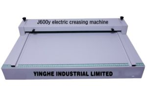 J600Y Electric Creasing Machine pictures & photos