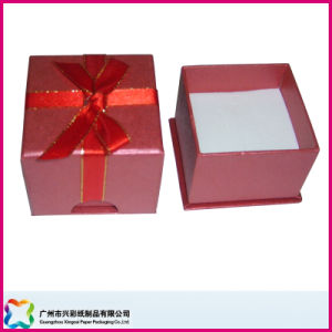 Gift Box with Ribbon Closure and Insert (XC-1-031) pictures & photos