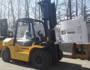 7 Ton Forklift with Paper Roll Clamp pictures & photos
