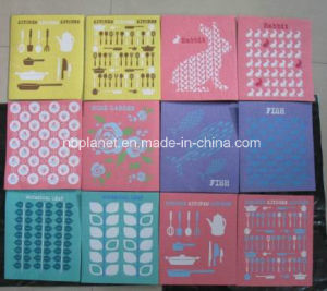 Printed Cellulose Kitchen Sponge Cloth/ Towel pictures & photos