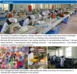 China Factory Custom Teddy Bear Factory China pictures & photos