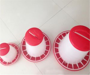 Poultry Farm Plastic Chicken Pullet Feeder pictures & photos