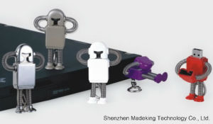 OEM 1GB-64GB Metal Robot Designed USB Flash Drive USB Flash pictures & photos