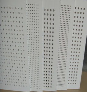 Perforated Gypsum Board Use for Ceiling pictures & photos