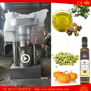 Hydraulic Almond Press Pumpkin Sesame Walnut Oil Extraction Machine pictures & photos