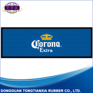 Custom Printing Promotion Rubber Bar Beer Mat pictures & photos