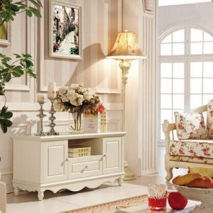 French Style Living Room Furniture Stylish TV Stand pictures & photos