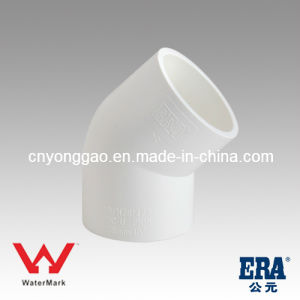 Manufacture Plastic Australia Fittings Ause01 PVC Elbow pictures & photos