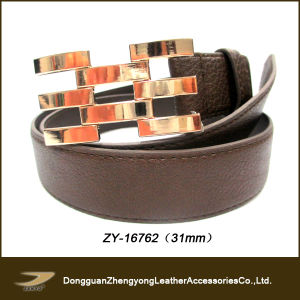 Janyo Zy-16762 High Quality Top Layer Leather Belt Women