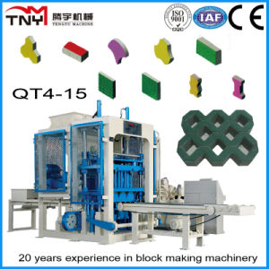 Automatic Block Making Machine Qt4-15 Concrete Interlocking Paver Machine pictures & photos