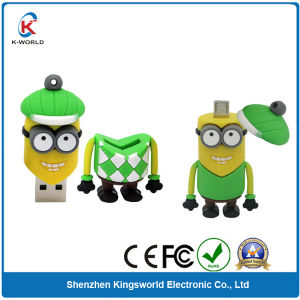 PVC OTG USB Flash Disk 4GB pictures & photos
