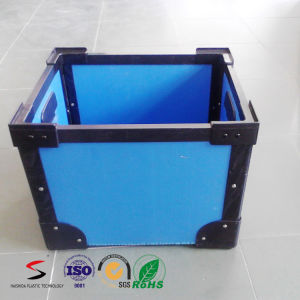 Flame Retarding PP Corrugated Sheet Turnover Box pictures & photos