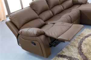Leisure Italy Leather Sofa Modern Furniture (840) pictures & photos