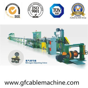 Hot Selling Physical Foam Extrusion Coaxial Cable Wire Extruding Equipment pictures & photos