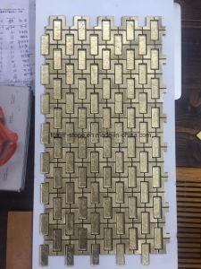 Slate/Ceramic/Porcelain/Glass Tumbled Marble Mosaic Tiles Backsplash Ideas for Sale pictures & photos